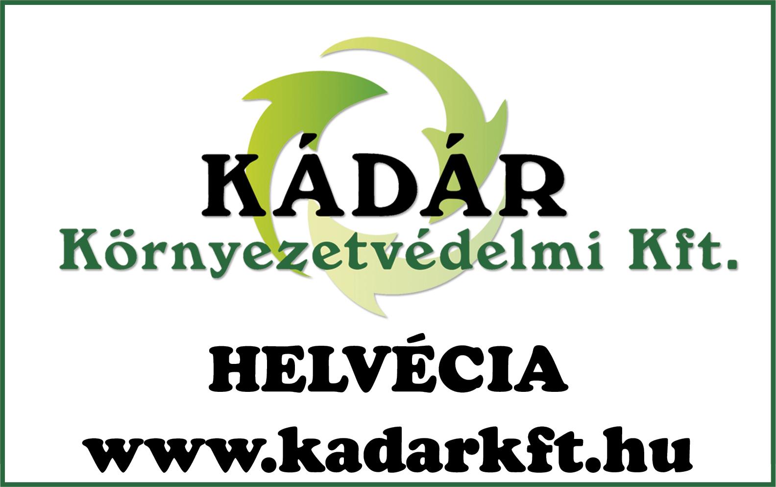 Kádár Környezetvédelmi Kft.