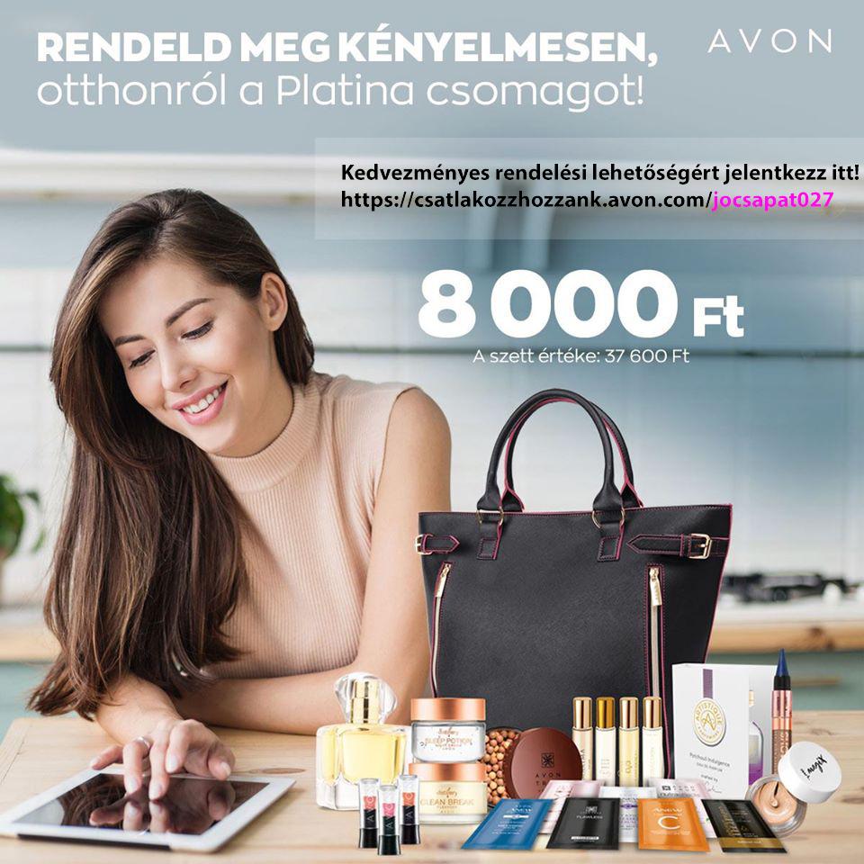 Avon – Kedvezményes kód: jocsapat027