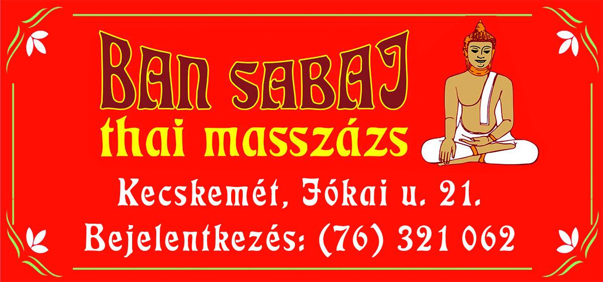 Ban Sabai Thai Masszázs
