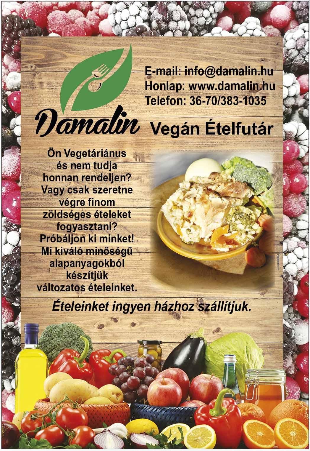 Damalin Vegán Ételek
