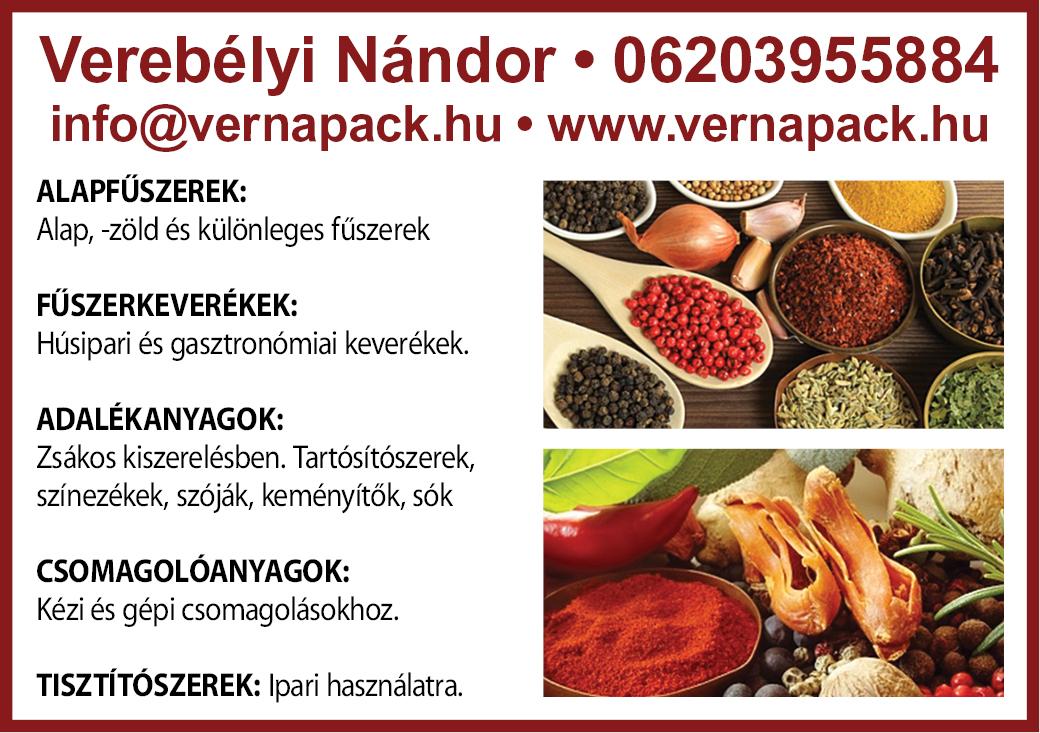 Verebelyi Nandor Vernapack