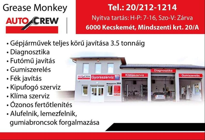 Grease Monkey KfT.