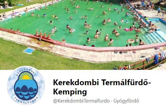 Kerekdombi Termálfürdő-Kemping