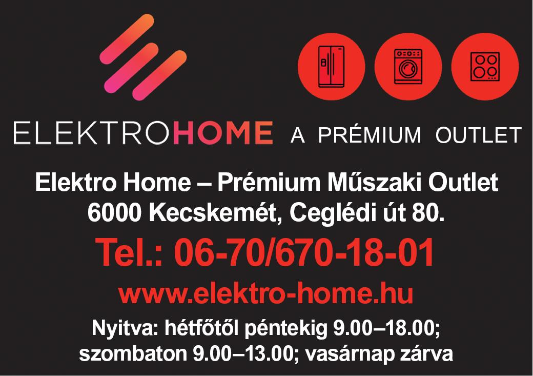 Elektro Home- A PRÉMIUM MŰSZAKI OUTLET