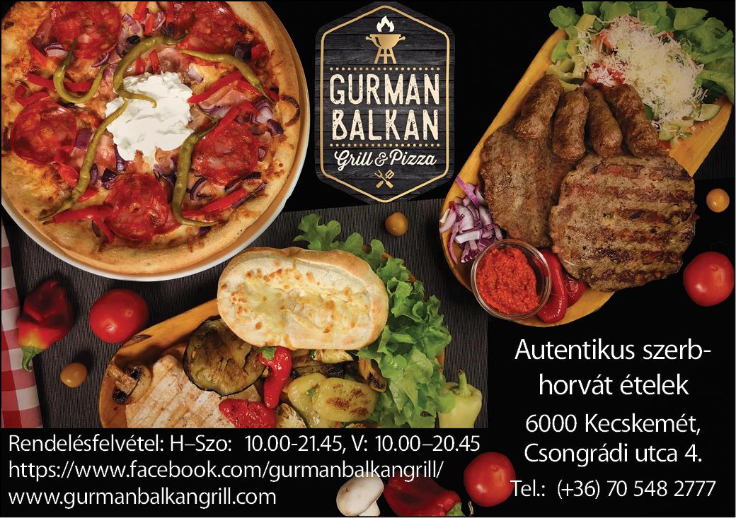 Gurman Balkan Grill&Pizza Kecskemét