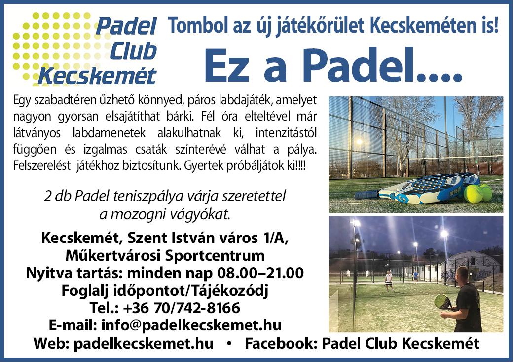Padel Club Kecskemét