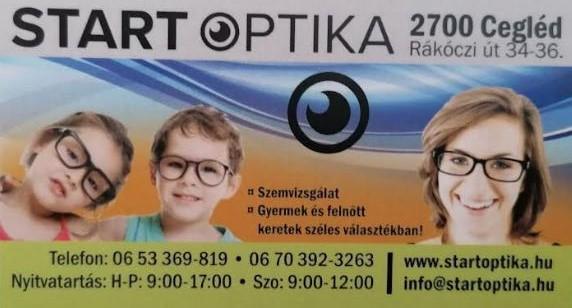 Start Optika Cegléd